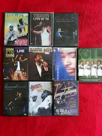 10 Motown DVDs Ashburn, 20147