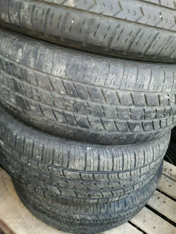Pair of coopers tires and goodyear 982d84e3-772f-4955-9775-4e5c101d3ffa