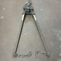 Tow Hitch With Sway Bars