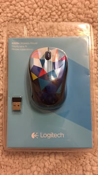 black, blue, purple and pink Logitech wireless mouse Chicago, 60657