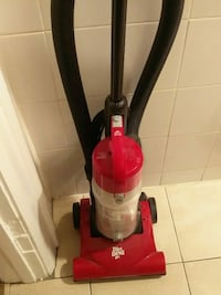 red and black Dirt Devil upright vacuum cleaner Toronto, M6G