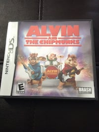 Alvin and the chipmunks Nintendo DS Game like new Ridley, 19094