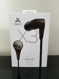 black Jaybird wireless headset box Pleasanton, 94588