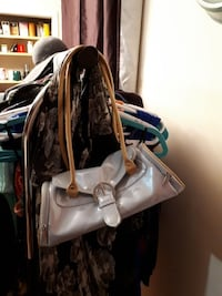 gray and brown leather tote bag St. John's, A1A 3L2