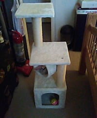 white and gray cat condo Reisterstown, 21136
