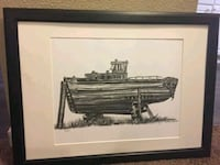 """Signed Limited Edition """"Drydock"""" Print Calgary, T2N 1S4"""