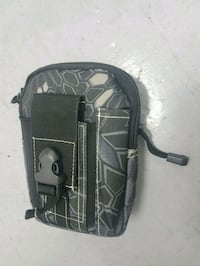 black and gray canvas molle  sidepack Richmond, V7A 4M6