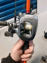 Daiwa Baitcaster orange stiks spidervast Mitchell and more prices neg Martinsburg, 25401
