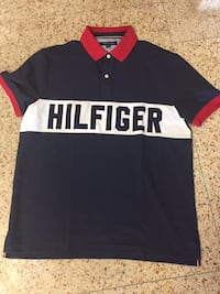 Tommy Hilfiger Polo Collared Short Sleeved Shirt New