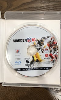 Madden 2010 Playstation 3 Madden 2003 and 2004 for XBox (original)