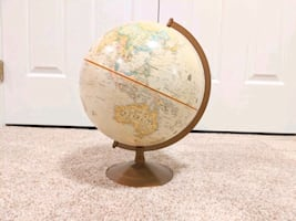 World Geographic Globe