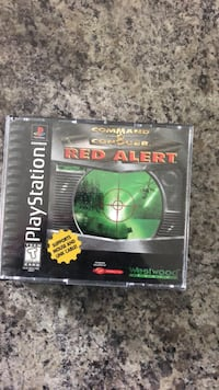 command and conquer Red Alert PlayStation one game Martinsburg, 25403