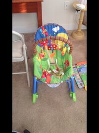 baby's green and blue bouncer Indian Head, 20640