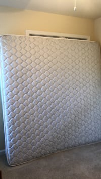 King size mattress like new used once in a guest room. 532 mi