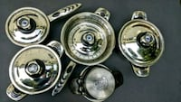 Muller 9 Piece Stainless Pot & Pan Set Used Port Dover, N0A 1N6