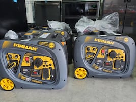 Like New Firman 3200Peak / 2900 Running Watts Inverter Generator