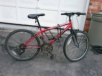 red and black hardtail mountain bike Welland, L3C 6Z8