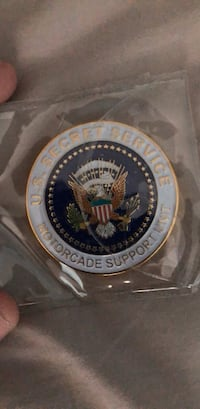 Secret service coin  New York, 11235