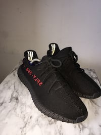 pair of black Adidas Yeezy Boost 350 V2 Toronto, M6M 2E6