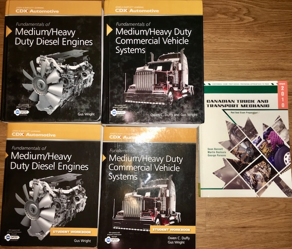 CDX 310T Truck and Coach Textbooks, Workbooks and CofQ prep book
