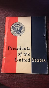 Presidents of the United States Old Book