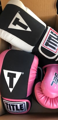 Title boxing gloves men's and women's  Herndon, 20170