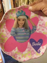 Plate antique Barbie 619 mi