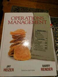 Operations Management Textbook 10th Edition Toronto, M5J 2Y2