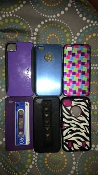 A variety of iPhone 4 Cases