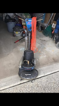 black and red upright vacuum cleaner Edmonton, T6V 1P3