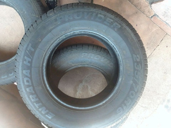 Used Tires Colorado Springs >> Tires Like New Size 235 70r16