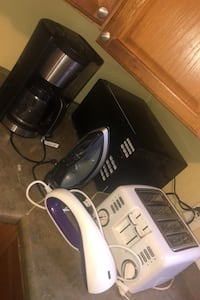 Toaster microwave iron steamer coffee pot New Rochelle, 10801