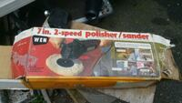 polisher sender very good condition, used one time Newark, 07103