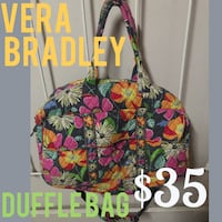 Green, pink, and white floral tote bag Springfield, 65803