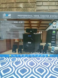 bnw Acoustics professional home theater system