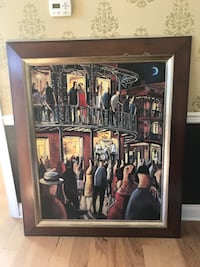 Artwork. painting, mint condition, framed, oversized Manalapan, 07726