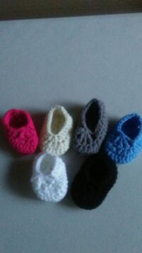 Crochet baby shoes  Huntsville