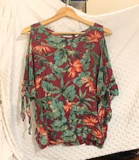 Women flower blouse