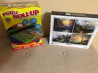 New Thomas Kincaid puzzle and roll up puzzle Kingsport, 37660