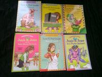 6 Junie B Jones youth chapter books