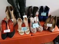 assorted pairs of shoes and sandals Laval, H7E 5B1