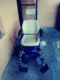 blue and black electronic wheelchair Santa Ana, 92704