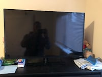 black flat screen TV with remote Norfolk, 23518