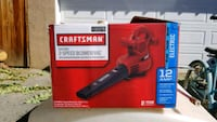 red and black Milwaukee cordless impact wrench box Riverside, 92501