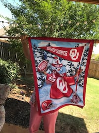 Brand new 12 months of the year Oklahoma Sooners flags OU Oklahoma City, 73162