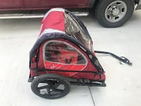 Double bike trailer/carrier