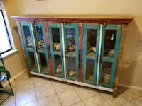 ONE-OF-A-KIND DISTRESSED FINISH CREDENZA/SIDEBOARD   Las Vegas, 89149
