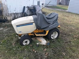 Cub cadet lawnmower and snow through  too...have all...  won't start