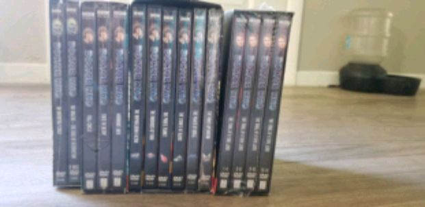 Photo Doctor who DVD collection