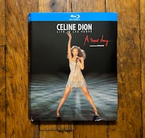 Celine Dion: Live in Las Vegas A New Day -Blu-Ray, Excellent Condition